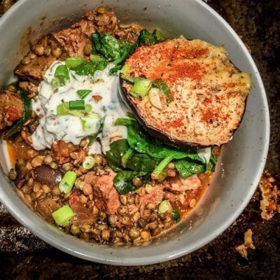 Pulled Pork Lentil Curry