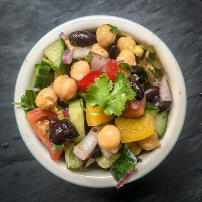 Quick Mexican Bean Salad