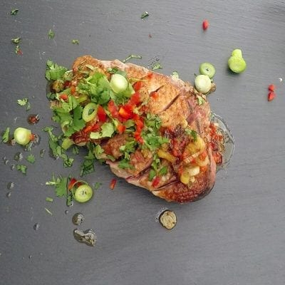 Lemongrass and Ginger Duck Breast Recipe