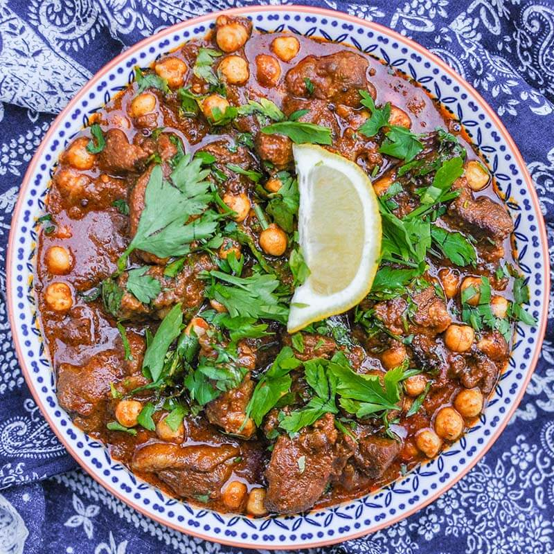 Moroccan Lamb Stew The Easy Way With 7 Ingredients Biffen S Kitchen