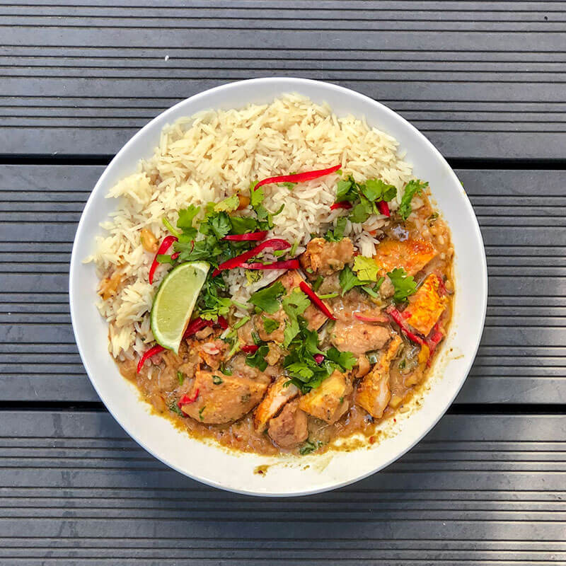 Easy Thai Red Pheasant Curry