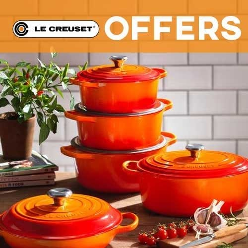 le creuset offers