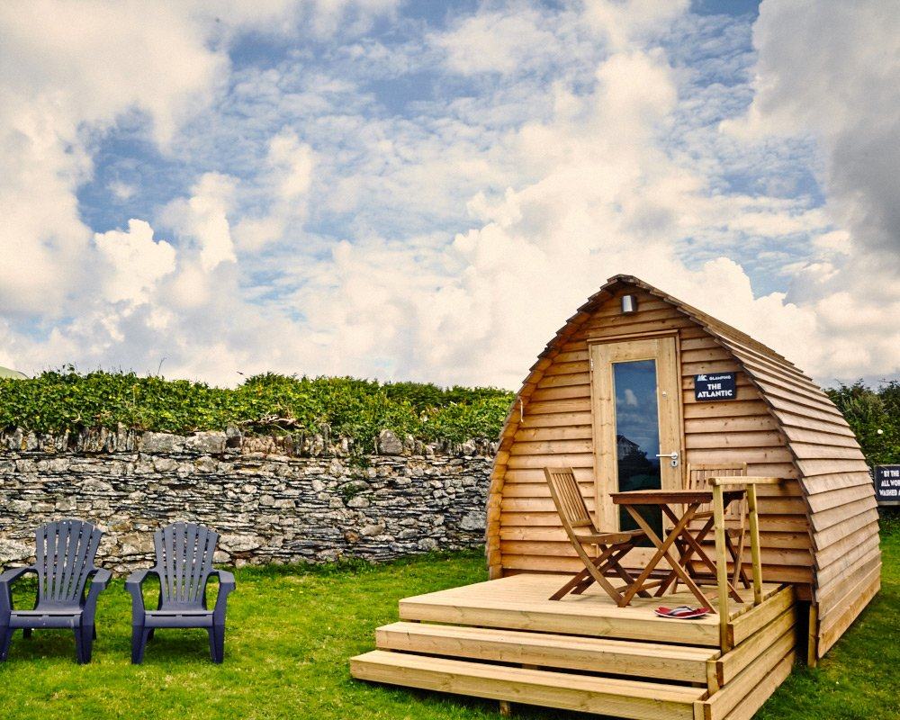 Ocean Pitch Glamping Pods