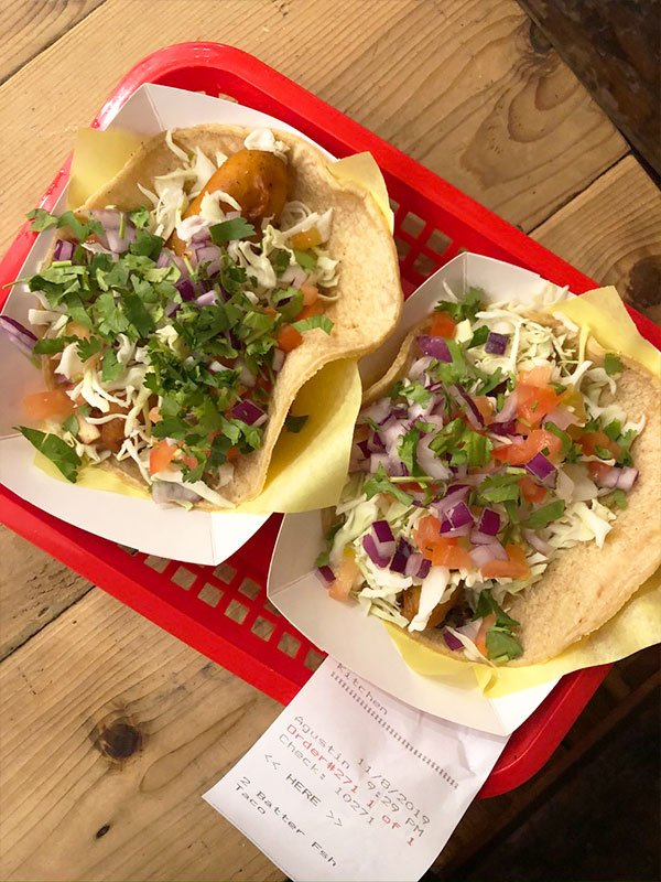Mike's Fishes Tacos