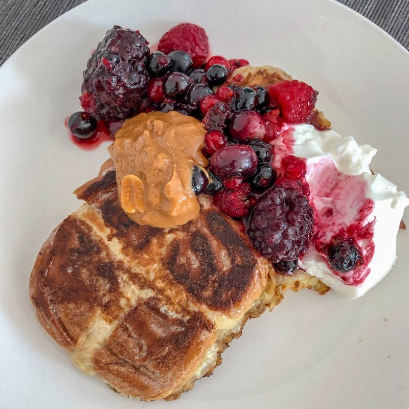 Hot Cross Bun French Toast – In 10 minutes