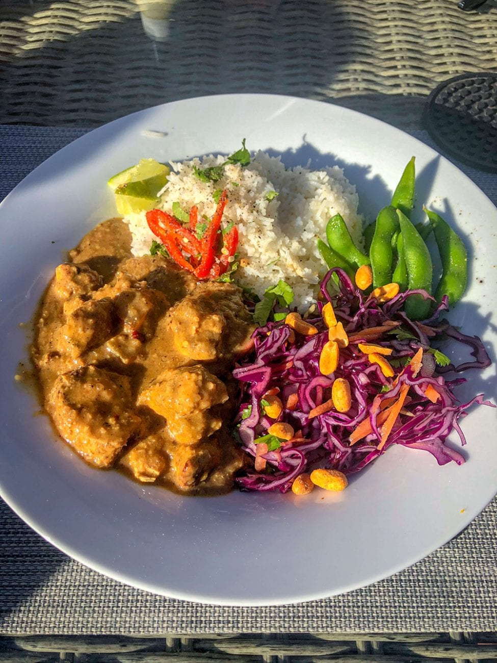 Banging Satay Chicken Curry
